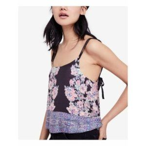 Free People Move Lightly Cami, Charcoal, Size XS